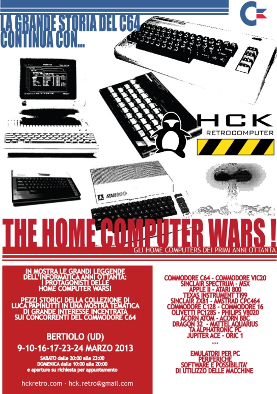Bertiolo 2013 - HOme computer wars
